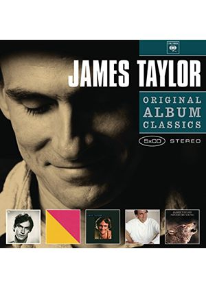 James Taylor - Original Album Classics (JT/Flag/Dad Loves His Work/That's Why I'm Here/Never Die Young) (Music CD)
