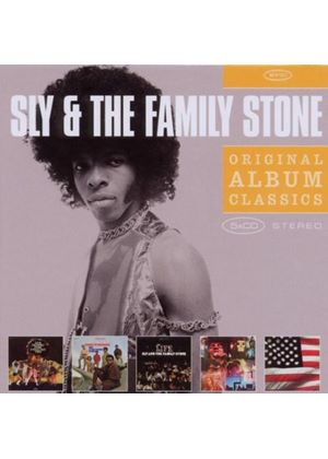 Sly & The Family Stone - Original Album Classics (A Whole New Thing/Dance To The Music/Life/Stand/There's A Riot Goin' On) (Music CD)