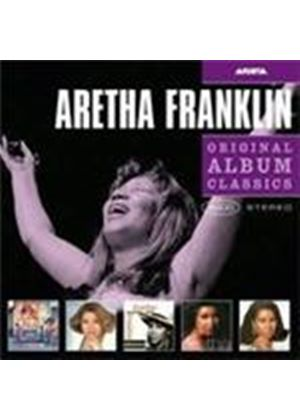 Aretha Franklin - Original Album Classics Who's Zoomin' Who/Aretha/What You See Is What You Sweat/A Rose Is Still A Rose/So Dam..) (Music CD)