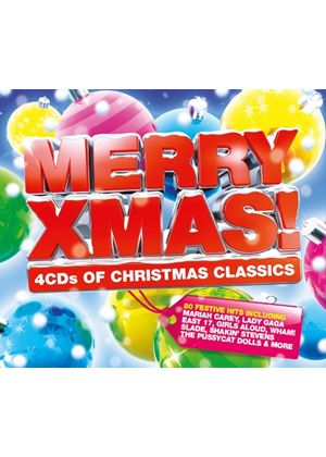 Various Artists - Merry Xmas (4 CD Box Set) (Music CD)