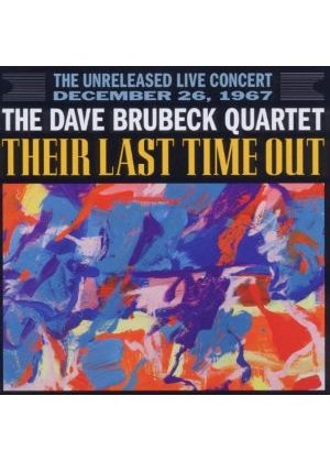 Dave Brubeck - Their Last Time Out (The Unreleased Live Concert, December 26, 1967/Live Recording) (Music CD)