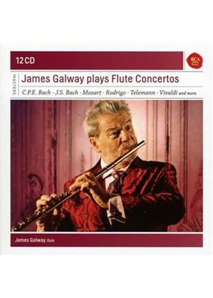 James Galway Plays Flute Concertos (Music CD)