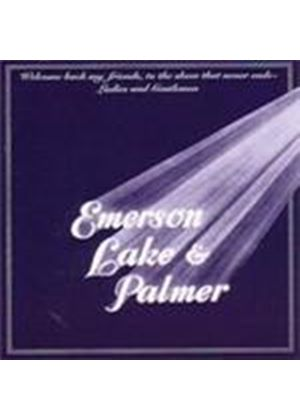 Emerson, Lake & Palmer - Welcome Back My Friends To The Show That Never Ends - Ladies And Gentlemen (Live) (Music CD)