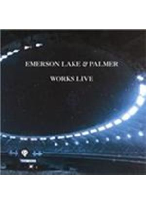 Emerson, Lake & Palmer - Works Live (Music CD)