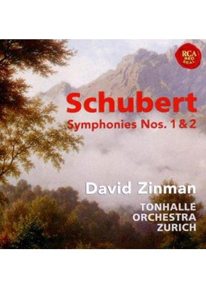 Schubert: Symphonies Nos. 1 & 2 (Music CD)