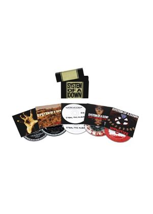 System Of A Down - System Of A Down (5 Album Bundle) (Music CD)