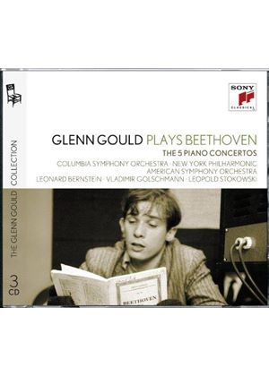 Beethoven: 5 Piano Concertos (Music CD)