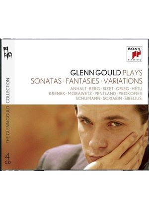 Glenn Gould Plays Sonatas, Fantasies, Variations (Music CD)