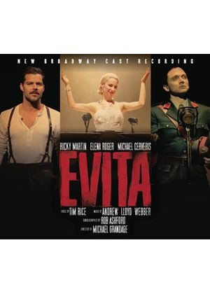 Evita (New Broadway Cast Recor - Evita - New Broadway Cast Recording (Music CD)