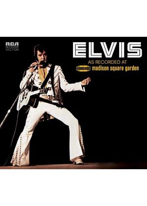 Elvis Presley - As Recorded at Madison Square Garden (Remastered/Live Recording) (Music CD)