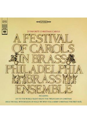 Philadelphia Brass - Festival of Carols in Brass (Music CD)