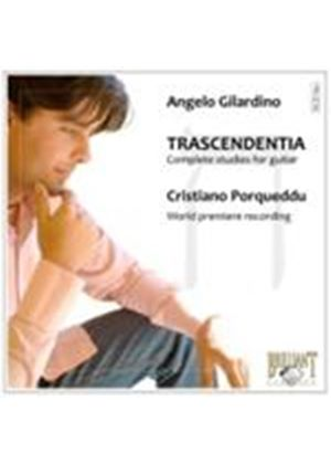 Gilardino: Trascendentia: 60 Studies for Guitar (Music CD)