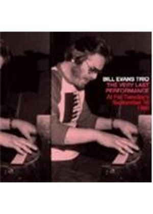 Bill Evans Trio - Very Last Performance, The (Fat Tuesday's 10th September 1980) (Music CD)