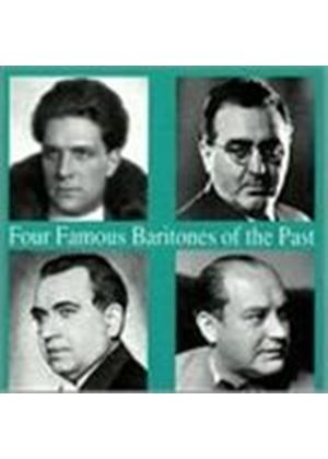 Various Artists - Four Baritones Of The Past (Music CD)