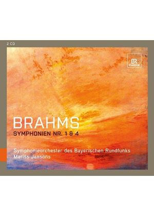 Brahms: Symphonien Nr. 1 & 4 (Music CD)