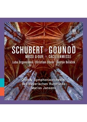 Schubert: Mass in G minor; Gounod: St. Cecilia Mass (Music CD)