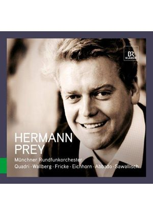 Great Singers: Hermann Prey (Music CD)