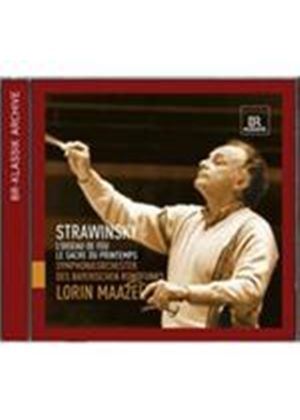 Maazel conducts Stravinsky (Music CD)