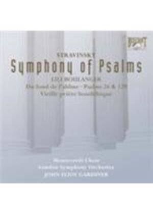 Boulanger; Stravinsky: Symphony of Psalms (Music CD)
