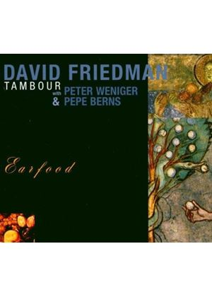 David Friedman - Earfood (Music CD)
