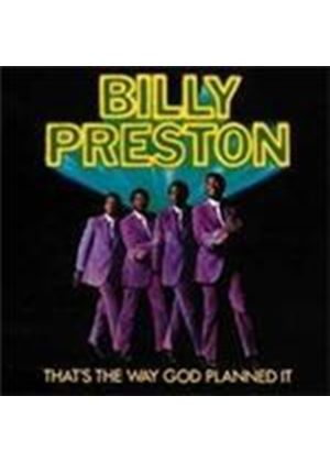 Billy Preston - That's The Way God Planned It [Remastered] (Music CD)