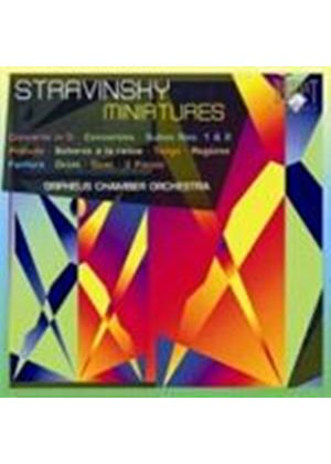Stravinsky Miniatures (Music CD)