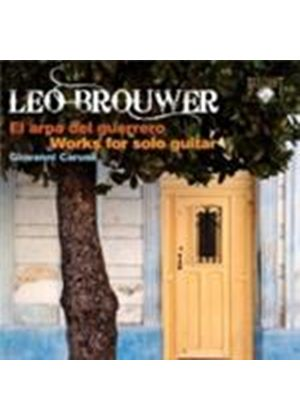 Brouwer: Works for Solo Guitar (Music CD)