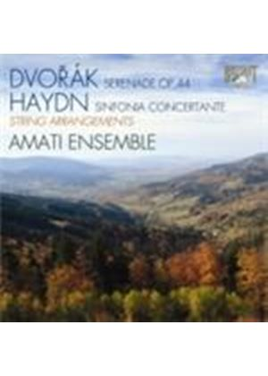 Dvorak: Wind Serenade; Haydn: Sinfonia Concertante (Music CD)