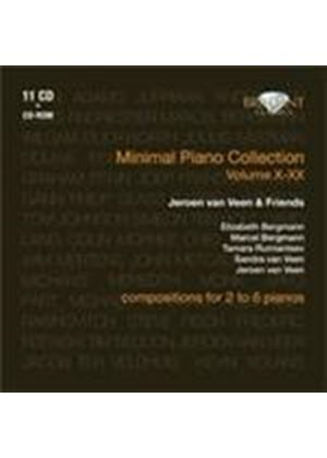 Minimal Piano Collection, Vol 10-20 (Music CD)