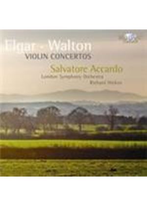 Elgar; Walton: Violin Concertos (Music CD)