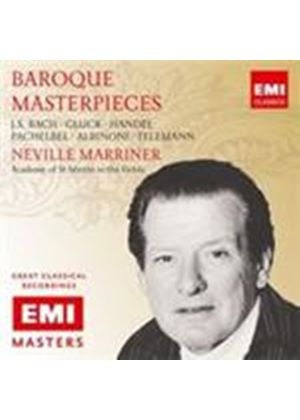 Marriner conducts Baroque Masterpieces (Music CD)