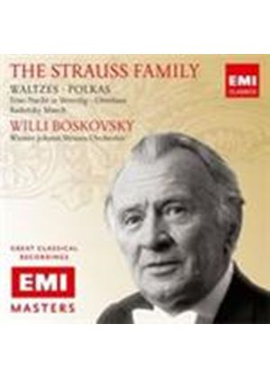 Strauss, J I & II: Waltzes and Polkas (Music CD)
