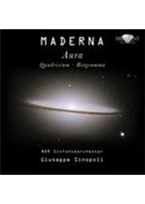Maderna: Orchestral Works (Music CD)