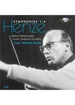 Henze: Symphonies Nos 1-6 (Music CD)