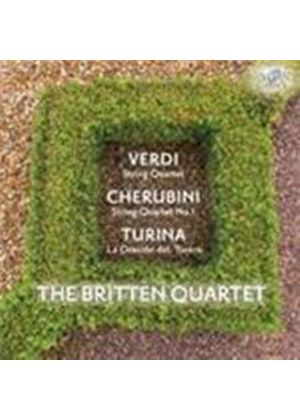 Cherubini; Turina; Verdi: String Quartets (Music CD)
