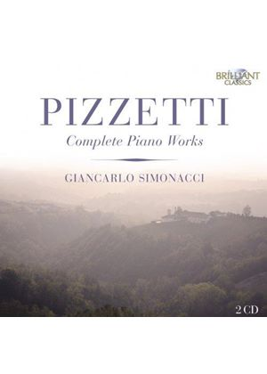 Pizzetti: Complete Piano Works (Music CD)