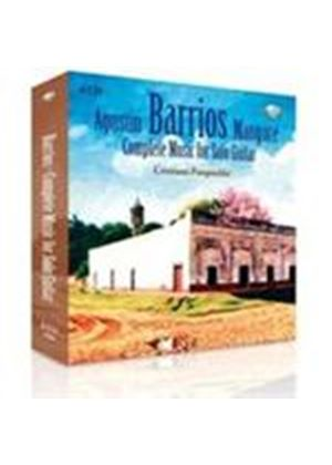 Barrios: Complete Guitar Works (Music CD)