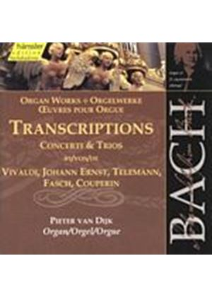 Johann Sebastian Bach - Bach Edition Vol.95 - Organ Transcriptions (Van Dijk) (Music CD)