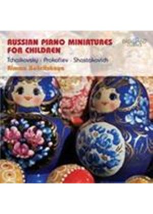 Russian Piano Miniatures for Children (Music CD)