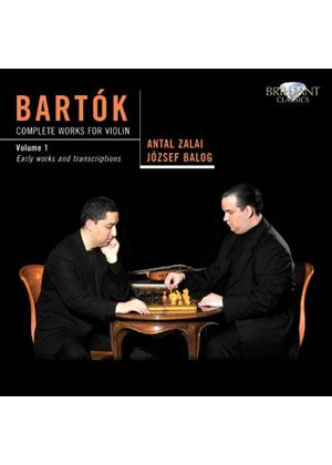 Bartok: Complete Works for Violin, Vol. 1 (Music CD)