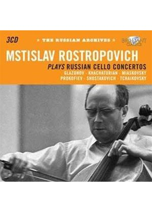 Russian Archives: Mstislav Rostropovitch (Music CD)