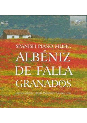 Spanish Piano Music (Music CD)