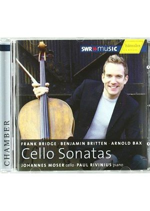 Bridge, Britten & Bax: Cello Sonatas (Music CD)