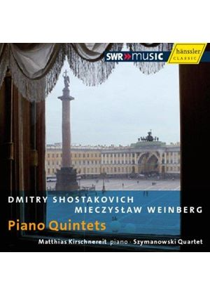 Dmitry Shostakovich, Mieczyslaw Weinberg: Piano Quintets (Music CD)