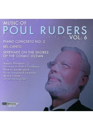 Music of Poul Ruders, Vol. 6 (Music CD)