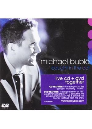Michael Buble - Caught In The Act (CD + Bonus DVD) (Music CD)