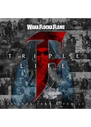 Waka Flocka Flame - Triple F Life: Friends, Fans & Family (Music CD)