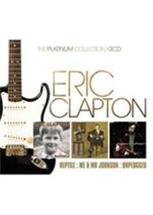 Eric Clapton - Platinum Collection, The (Reptile/Me And Mr. Johnson/MTV Unplugged) (Music CD)