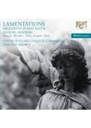 Palestrina: Lamentations (Music CD)