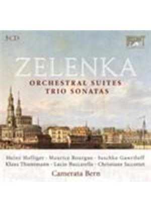 Zelenka: Orchestral Suites (Music CD)
